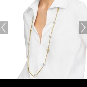 Tory Burch Evie Long Necklace.